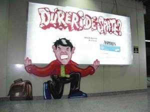 Asprin-promotion-graffiti-ads